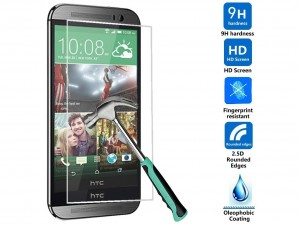 Tempered-Glass-LCD-HD-Premium-Screen-Protector-Guard-Film-For-HTC-One-M9